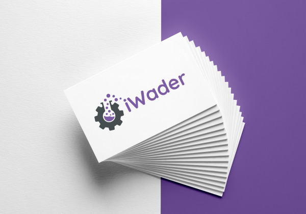 New Logo Design for iWader